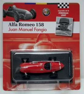 Alfa Romeo  - 158 1972 red - 1:43 - Magazine Models - for07 - magfor07 | Tom's Modelauto's