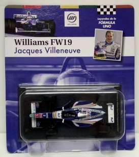 Williams  - 1997 blue/white - 1:43 - Magazine Models - for11 - magfor11 | Tom's Modelauto's
