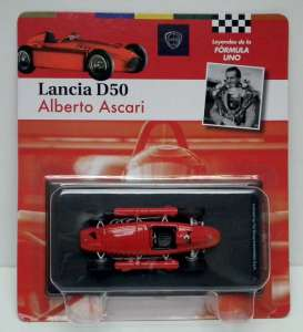 Lancia  - 1955 red - 1:43 - Magazine Models - for12 - magfor12 | Tom's Modelauto's