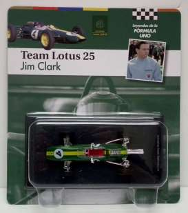 Lotus  - 1963 green/yellow - 1:43 - Magazine Models - for13 - magfor13 | Tom's Modelauto's