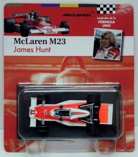 McLaren  - 1976 white/red - 1:43 - Magazine Models - for14 - magfor14 | Tom's Modelauto's