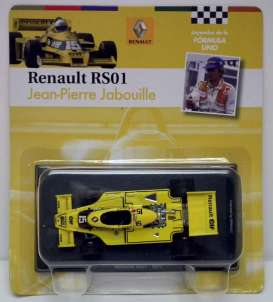 Renault  - 1977 yellow - 1:43 - Magazine Models - for16 - magfor16 | Tom's Modelauto's
