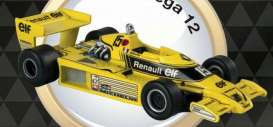 Renault  - 1977 yellow - 1:43 - Magazine Models - for16 - magfor16 | Toms Modelautos