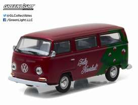Volkswagen  - red/green - 1:64 - GreenLight - 51077D - gl51077D | Tom's Modelauto's
