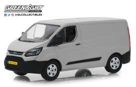 GreenLight - Ford  - gl51096 : 2015 Ford Transit Custom L1 & H1 van, moondust silver