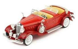 Chrysler  - 1933 red - 1:43 - IXO Museum - ixmus070 | Tom's Modelauto's