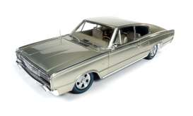 Dodge  - 1966 gold - 1:18 - Auto World - AMM1067 | Tom's Modelauto's