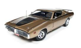 Dodge  - Charger R/T 1971 gold metallic - 1:18 - Auto World - AMM1086 | Tom's Modelauto's