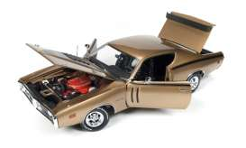 Dodge  - Charger R/T 1971 gold metallic - 1:18 - Auto World - AMM1086 | Toms Modelautos