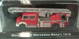 Mercedes Benz Metz - red - Magazine Models - magfireL1519 | Tom's Modelauto's