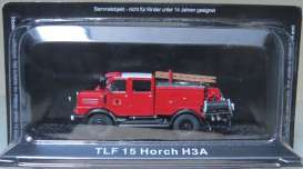 Horch  - TLF15 H3A red - Magazine Models - magfireH3A | Tom's Modelauto's