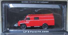 Ford  - LF8 FK 2500 red - Magazine Models - magfireFK2500 | Tom's Modelauto's