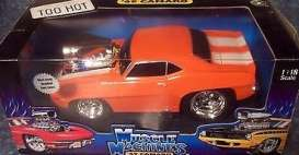 Chevrolet  - 1969 orange - 1:18 - Muscle Machines - musm61188o | Toms Modelautos