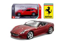 Bburago - Ferrari  - bura44011r : 1/32 Ferrari California T Open Top, red