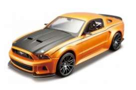 Maisto - Ford  - mai39127o : 2014 Ford Mustang Street Racer, metal modelkit