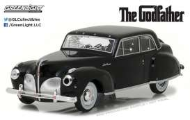 GreenLight - Lincoln  - gl86511 : 1941 Lincoln Continental *the Godfather 1972* with Bullet Whole Damage, black