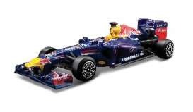 Red Bull Racing   - 2013 blue/red/yellow - 1:43 - Bburago - 38011V - bura38011V | Toms Modelautos