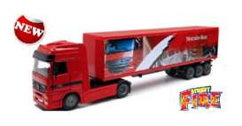 Mercedes Benz  - 2016 red - 1:43 - Bburago - 31456-5 - bura31456-5 | Toms Modelautos
