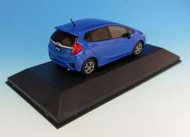 Honda  - Fit 3 2014 metallic blue - 1:43 - First 43 - F43-043 | Tom's Modelauto's