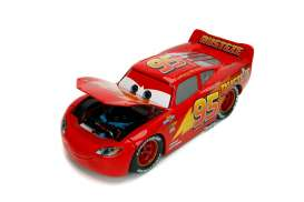 Cars  - 3 Lightning McQueen 2017 red - 1:24 - Jada Toys - 30214 - jada30214 | Tom's Modelauto's