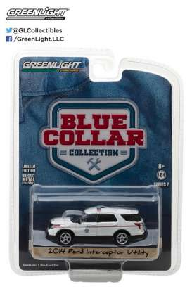 GreenLight - Chevrolet  - gl35060D : 2014 Ford Explorer United States Postal Service (USPS) Postal Police *Blue Collar Collection Series 2*