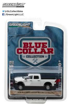 GreenLight - Ram  - gl35060E : 2016 Ram 2500 with Salt Spreader and Snow Plow  *Blue Collar Collection Series 2*