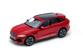 Welly - Jaguar  - welly24070r : 2016 Jaguar F-Pace, red