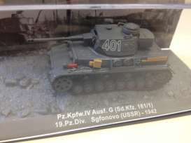 Krupp  - 1942 army green - 1:72 - Magazine Models - mag72-3 | Tom's Modelauto's