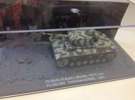 Magazine Models - Daimler  - mag72-7 : Panzer. Kpfw. III Ausf. L (Sd.Kfz. 141) USSR 1942, camouflage