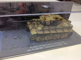Tiger  - 1943 camouflage - 1:72 - Magazine Models - mag72-23 | Tom's Modelauto's
