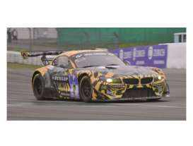 Minichamps - BMW  - mc151152317 : 2015 BMW Z4 GT3 Walkenhorst Motorsport Laser Fernandez/Cerruti/ Edwards/Keilwitz 24H Nurburgring 2015, black/orange