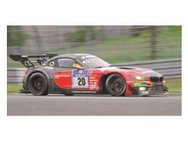 Minichamps - BMW  - mc151152320 : 2015 BMW Z4 GT3 BMW Sports Trophy Team Schubert Baumann/Hürtgen/Klingmann /Tomczyk 24H Nürburgring, grey/red