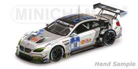 BMW  - 2016 grey/white - 1:43 - Minichamps - 437162618 - mc437162618 | Toms Modelautos
