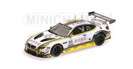 BMW  - 2016 white/yellow - 1:43 - Minichamps - 437162699 - mc437162699 | Tom's Modelauto's