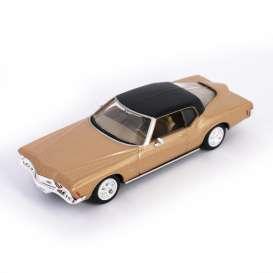 Lucky Diecast - Buick  - ldc94252gld : 1971 Buick Riviera GS, gold