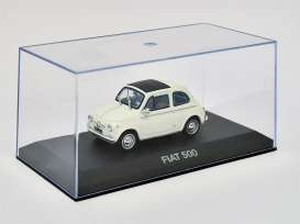 Fiat  - white - 1:43 - Magazine Models - At500w - magAt500w | Tom's Modelauto's