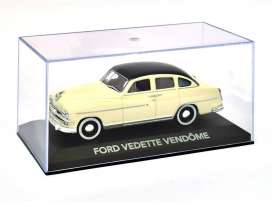 Magazine Models - Ford  - magATvedette : 1/43 Ford Vedette Vendome, white