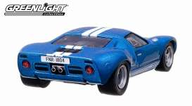Ford  - 1969 blue/white - 1:43 - GreenLight - 86224 - gl86224 | Toms Modelautos