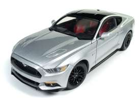 Auto World - Ford  - AW237 : 2017 Ford Mustang GT, silver