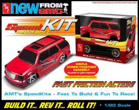 AMT -   - amtf107 : 1/20 Bling King Custom SUV SpeedKIT Friction Model Toy