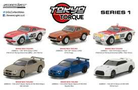 GreenLight - Assortment/ Mix  - gl29880~12 : 1/64 Tokyo Torque Series 1 Assortment of 12