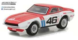 GreenLight - Datsun  - gl29880A : 1970 Datsun 240Z #46 Brock Racing Enterprises (BRE) John Morton *Tokyo Torque Series 1*, white/red/blue