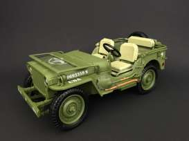 Jeep Willys - US Army 1944 army green - 1:18 - American Diorama - AD-77404 - AD77404 | Toms Modelautos