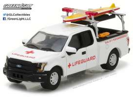 GreenLight - Ford  - gl29899 : 2016 Ford F-150 with Lifeguard Accessories *Hobby Exclusive*