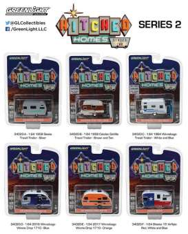 GreenLight - Assortment/ Mix  - gl34020~12 : Hitched homes series 2 assortment of 12