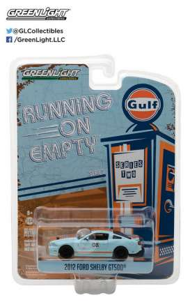 GreenLight - Shelby  - gl41020F : 2012 Shelby GT500 Gulf Oil *Running on Empty Series 2*
