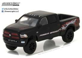 GreenLight - Ram  - gl29901 : 2017 Ram 2500 Power Wagon (Hobby Exclusive), matt black
