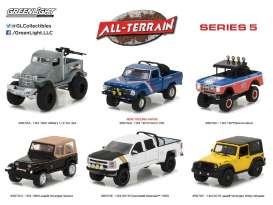 GreenLight - Assortment/ Mix  - gl35070~12 : 1/64 All Terrain Series 5 Assortment of 12