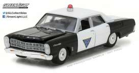GreenLight - Ford  - gl42800B : 1967 Ford Custom 500 Chicago Police Department *Hot Pursuit series 23*