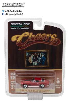 GreenLight - Chevrolet  - gl44770B : 1967 Sam's Chevrolet Corvette Sting Ray *Cheers (1982-93 TV Series)* Hollywood series 17
